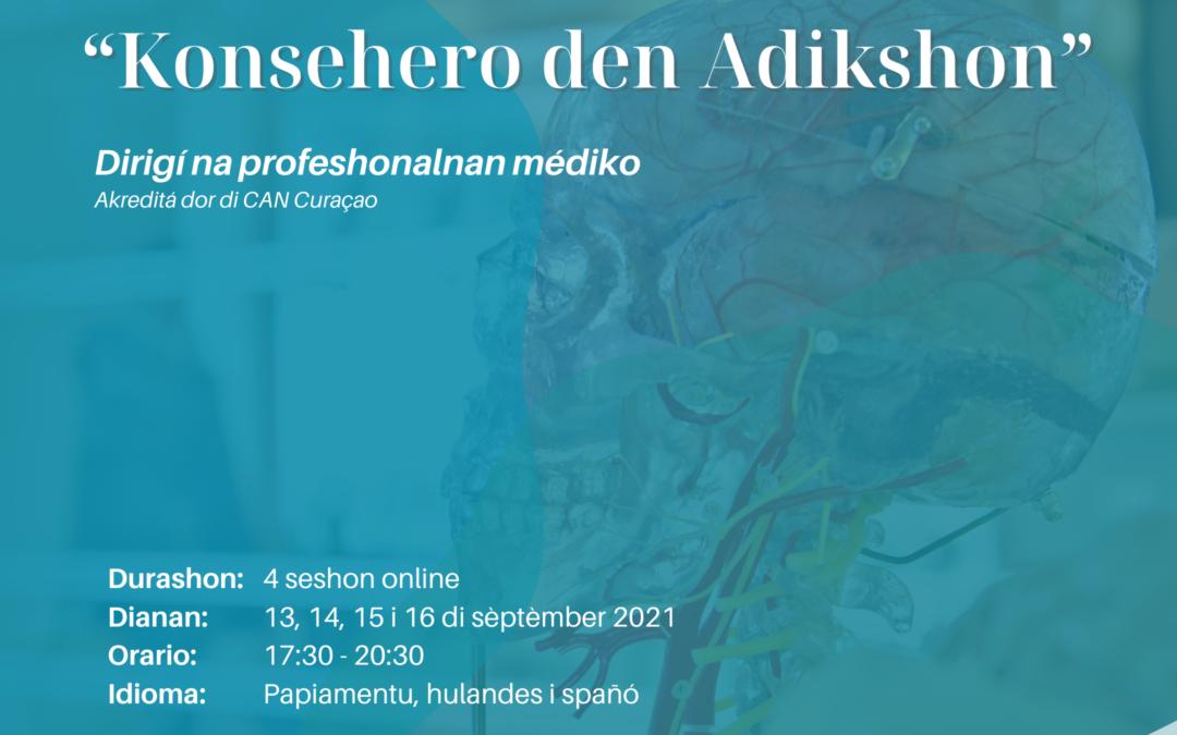 "Webinar akreditá; ""Konsehero den Adikshon"""